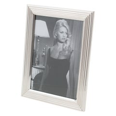 Christian Dior Paris Silver Plate Picture Frame