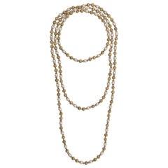 Christian Dior Pearl-embellished Necklace