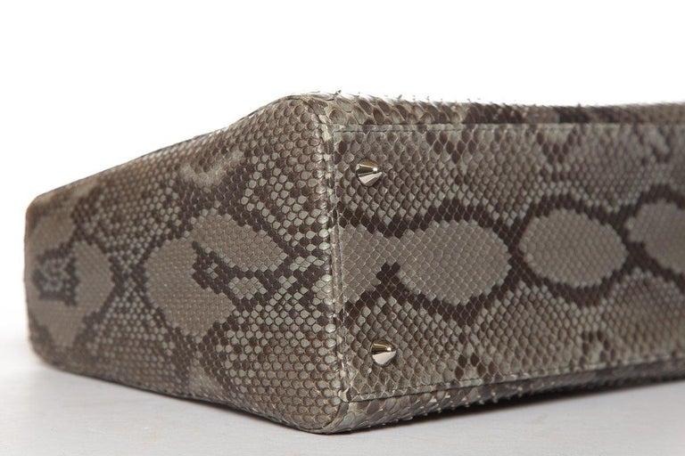 CHRISTIAN DIOR  Python Lady Dior Bag For Sale 2