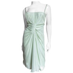 Christian Dior Ruched Corset Dress