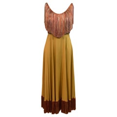 Christian Dior Runway Piece Fall-Winter 2020-2021 Ready-to-Wear Evening Dress