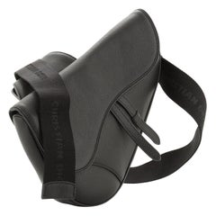Christian Dior Saddle Crossbody Bag Leather