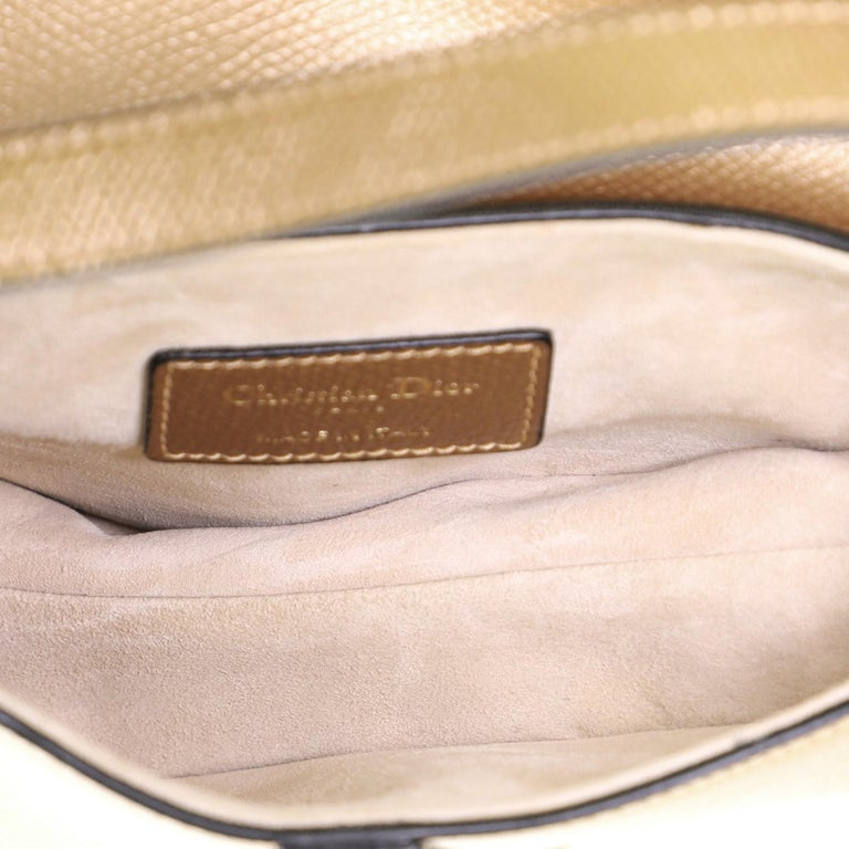 Christian Dior Saddle Handbag Leather Mini For Sale 1