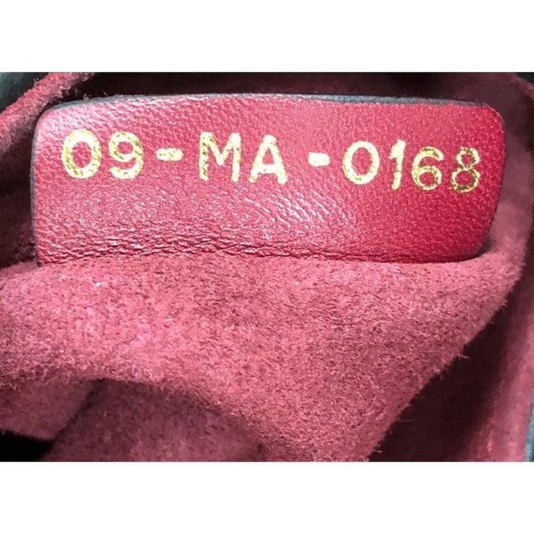 Christian Dior Saddle Handbag Leather Mini  For Sale 4