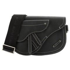 Christian Dior Saddle Messenger Bag Leather