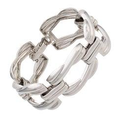 Christian Dior Silver Chain Bracelet