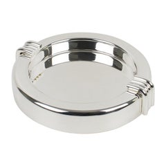 Christian Dior Silver Plate Cigar Ashtray Desk Tidy Catchall