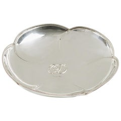 Christian Dior Silver Plate Ring Holder Display Bowl