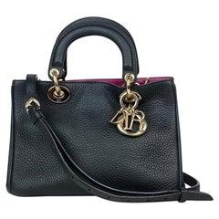 Christian Dior Small Black Diorissimo Crossbody Bag