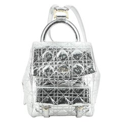 Christian Dior Stardust Backpack Cannage Quilt Leather Small