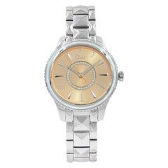 Christian Dior VIII Montaigne CD152110M006 Steel Quartz Bronze Dial Ladies Watch
