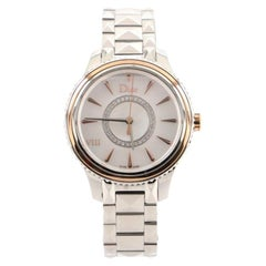 Christian Dior VIII Montaigne Quartz Watch Stainless Steel and Rose Gold