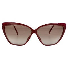 Christian Dior Vintage Burgundy Pink Optyl Sunglasses Mod 2324