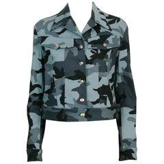 Christian Dior Vintage Camouflage Jacket US Size 4