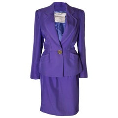 Christian Dior Vintage Numbered Silk Suit