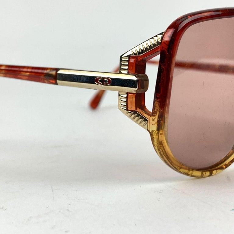 Beige Christian Dior Vintage Optyl Mint Sunglasses 2498 62/10 125 mm For Sale