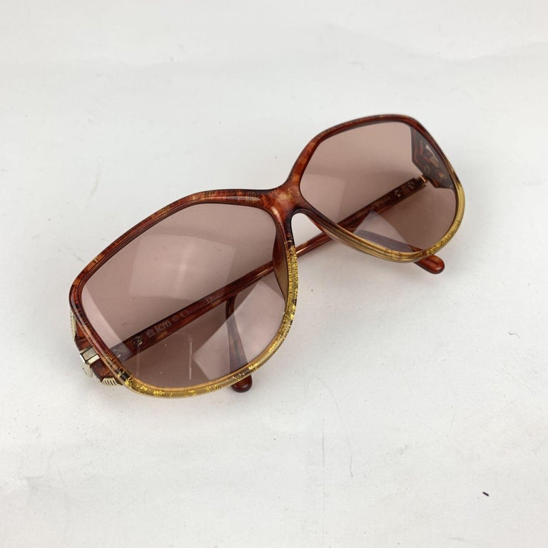 Christian Dior Vintage Optyl Mint Sunglasses 2498 62/10 125 mm For Sale 1
