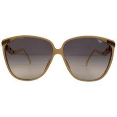 Christian Dior VIntage Optyl Women Mint 1970s Oversize Sunglasses 2279