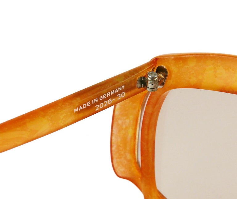Christian Dior Vintage Oversized Sunglasses Model 2026-30 For Sale 8