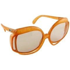Christian Dior Vintage Oversized Sunglasses Model 2026-30