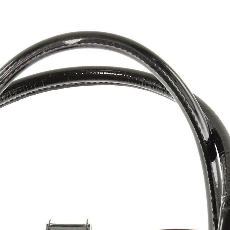 Christian Dior  Vintage Saddle Bowler Bag Nylon Large For Sale 3