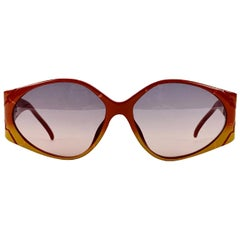 Christian Dior Vintage Sunglasses 2348 10 Brown Red 60-15 130 mm