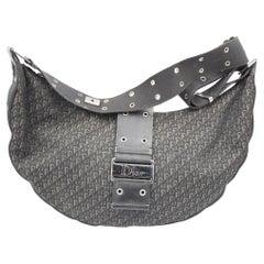 Christian Dior XL Half moon Handbag  with Crossbody Strap