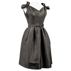 Christian Dior/Yves Saint Laurent cocktail dress numbered 1014003 C. 1958/1960