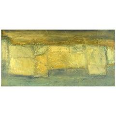 Christian Dyekjær, Modernist Landscape, Oil on Canvas, Dated 1965