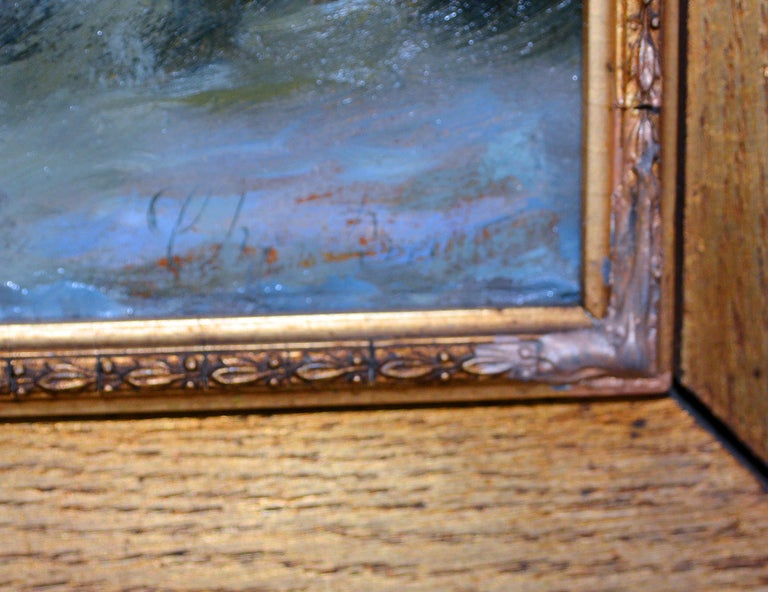 Hand-Painted Christian Frederik Emil Eckardt