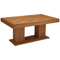 Christian Krass Table with Inlayed Top, 1930s