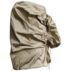 Christian Lacroix Adjustable Sculptural Silk Skirt