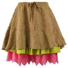 Christian Lacroix Bazar Vintage Mini Skirt