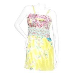 Christian Lacroix Floral Mini Dress