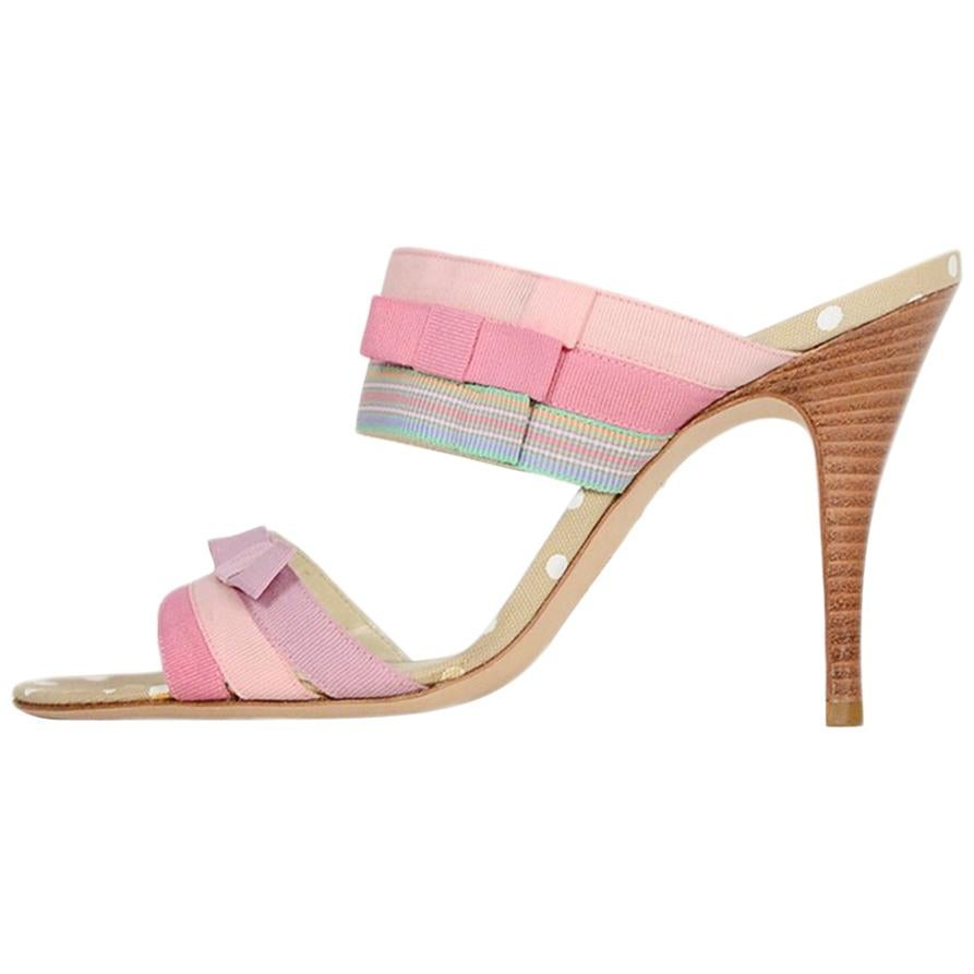802a02c8446f8 Christian Lacroix Pumps For Sale at 1stdibs