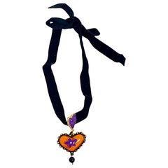 CHRISTIAN LACROIX Heart Pendant