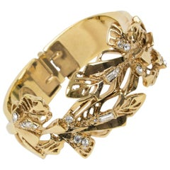 Christian Lacroix Jeweled Clamper Bracelet