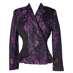 Christian Lacroix Silk brocaded jacket Ready- to- wear