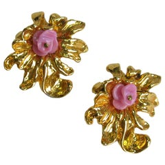 Christian Lacroix Vintage Clip-On Earrings