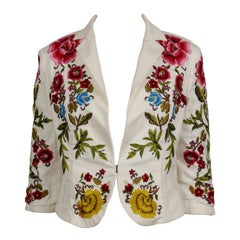 Christian Lacroix Vintage Embroidered Blazer