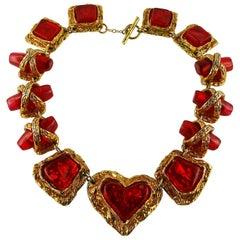 Christian Lacroix Vintage Heart Necklace