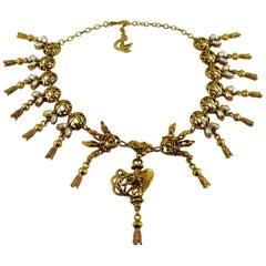 Christian Lacroix Vintage Jewelled Necklace