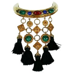 Christian Lacroix Vintage Rare Ethnic Inspired Torque Necklace