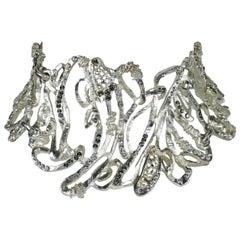 Christian Lacroix Vintage Rare Opulent Jewelled Choker Necklace