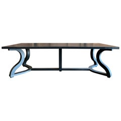 Christian Liagre Misaine Espresso Brown Walnut Dining Table