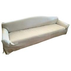 Christian Liaigre Basse Terra Linen Slipcovered Sofa for Holly Hunt Number 2