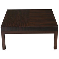 Christian Liaigre Coffee Tables in Mahogany