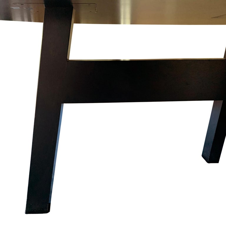 Christian Liaigre Designed Oval Dining Table 4