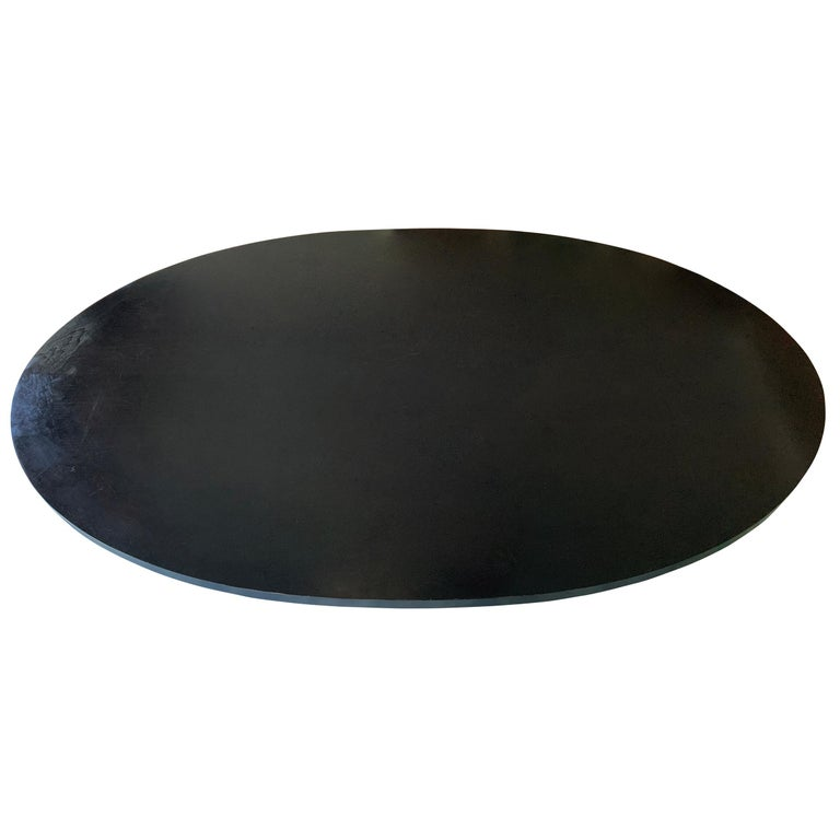 Christian Liaigre Designed Oval Dining Table 1