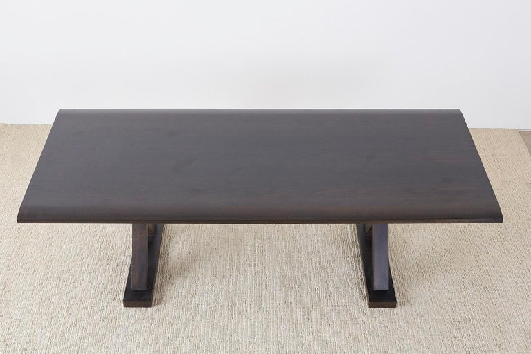 Christian Liaigre for Holly Hunt Courier Dining Table For Sale 3